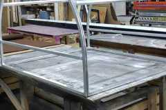 Metal frame construction for a canopy in Allentown, PA