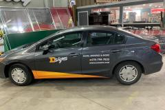 D-Signs & Awnings car wrap in Allentown, PA