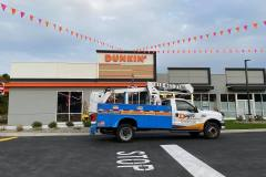 Installed channel letters in Coopersburg, PA for Dunkin, view 2