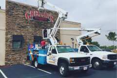 Gregory's roadhouse channel letters installed by D-Signs & Awnings