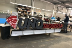 Manufacturing custom channel letters in Allentown, PA