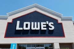 Channel Letters for Lowe's