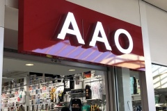 Channel letters for AAO