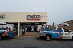 Channel letters for Metro PCS in Stroudsburg
