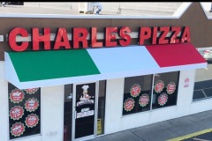 Charles Pizza channel lettering