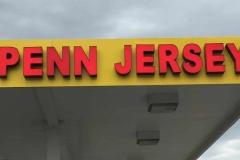 Penn Jersey Channel Lettering