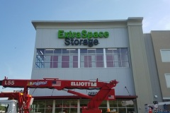 D-Signs & Awnings installing Channel Letters for Extra Space Storage