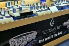 Custom banners for jewelry store