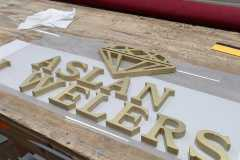 3D metal signs in Doylestown being manufactured