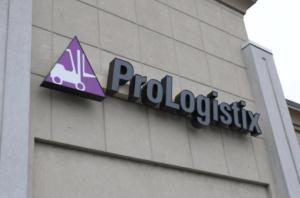 Channel Letter Prologistix Signage Bethlehem