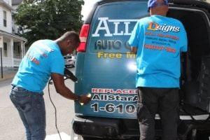 Car wrap in Allentown