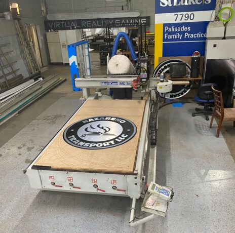 CNC Router machine services in Allentown, PA